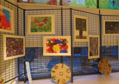 Art exhibition prints