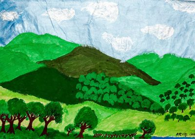 Kevin Landscape with trees 3